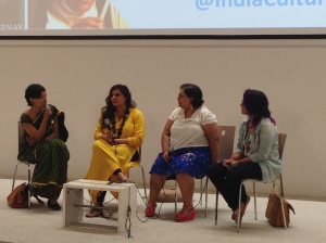 Panel Discussion on how feminism changed Indian documentaries. Panelist: Nisha Susan, Bishakha Datta and Deepanjana Pal.